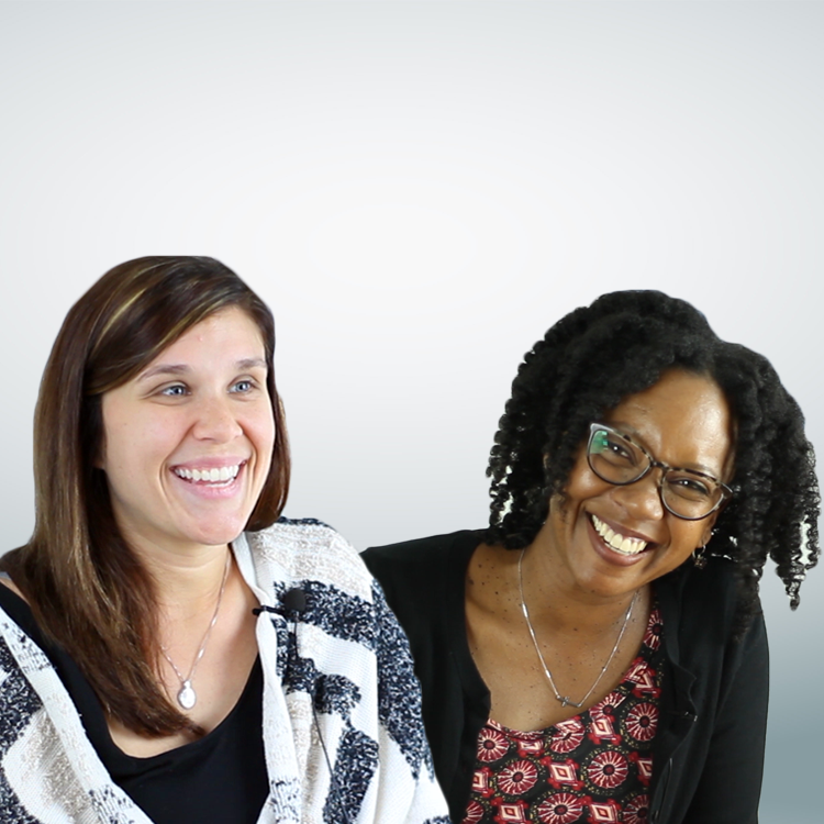 Dr. Ashley MacSuga-Gage and Dr. Erica McCray