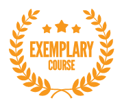 Exemplary Course Badge